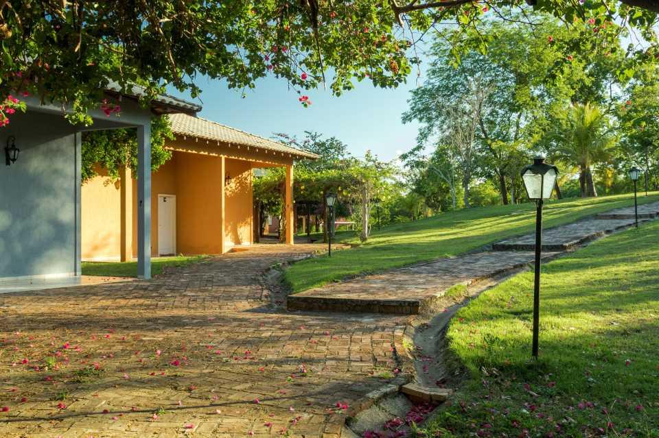 Jardim do Hotel.