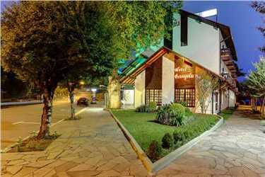 Fachada del Hotel Petrópolis