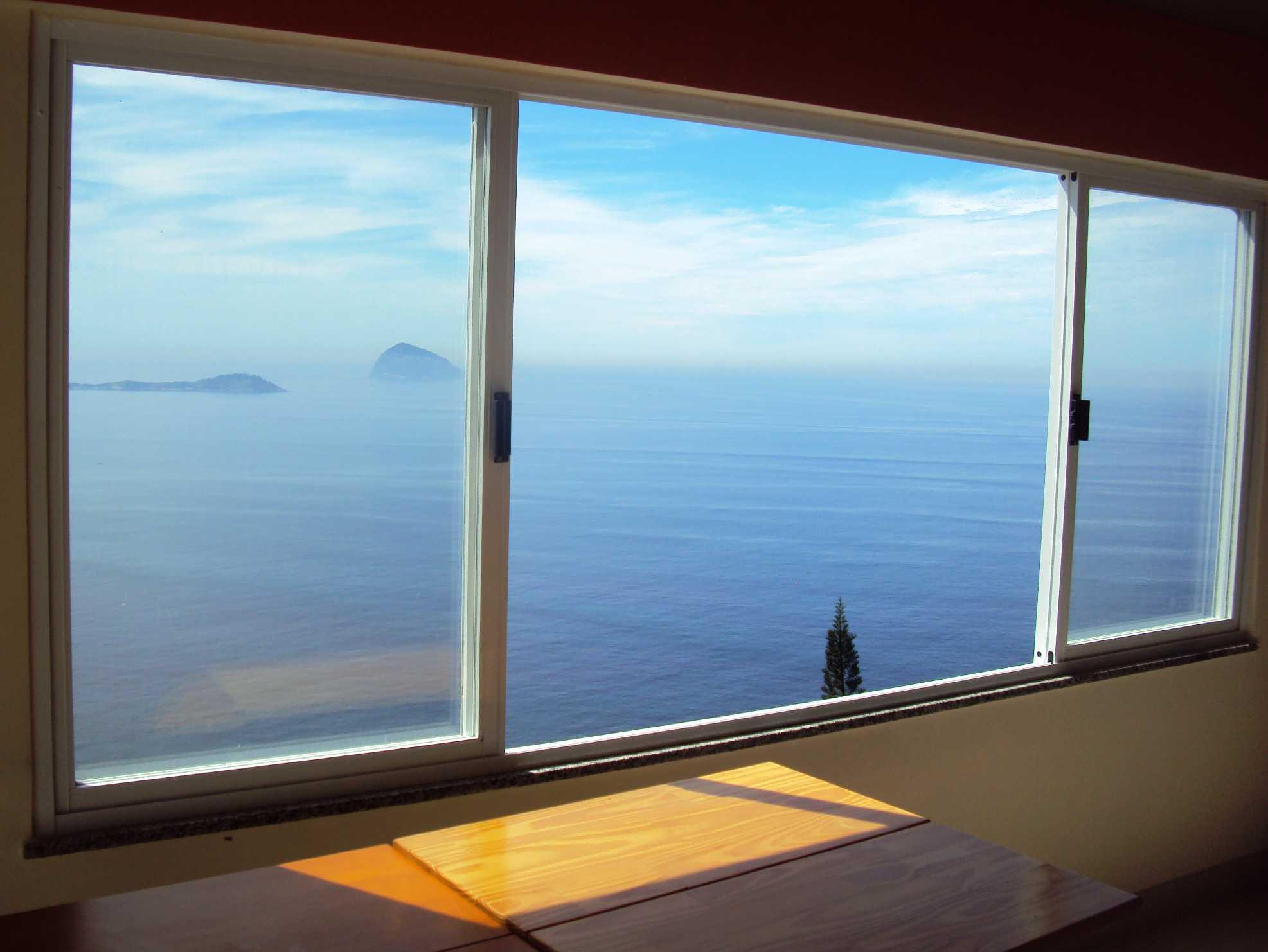 vista da janela da nossa varanda