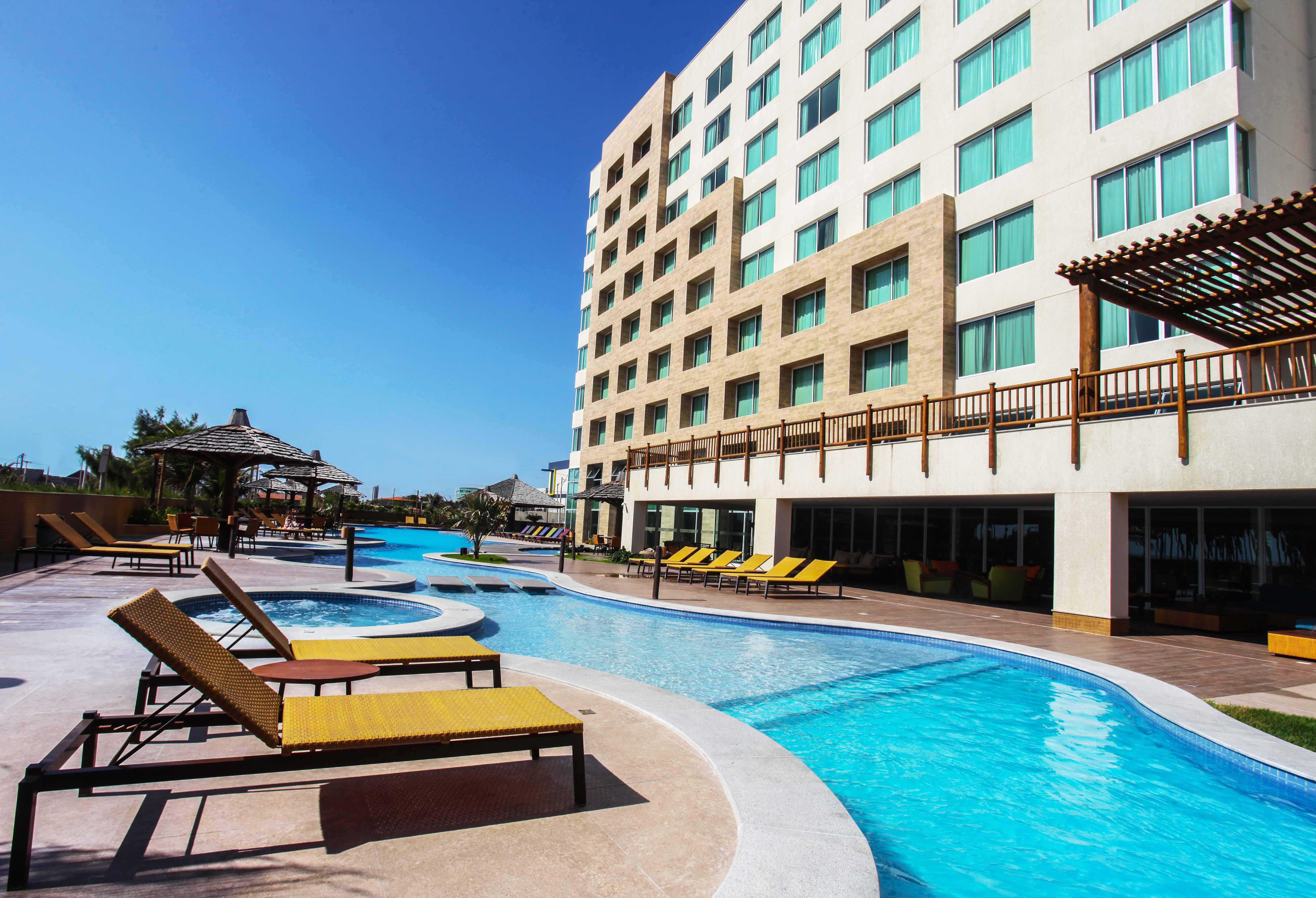 Hotel na beira mar da praia do Futuro