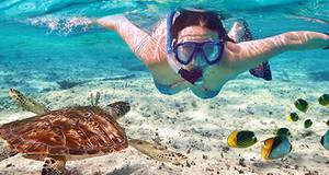 Passeio de Barco com Mergulho Livre em Maldivas