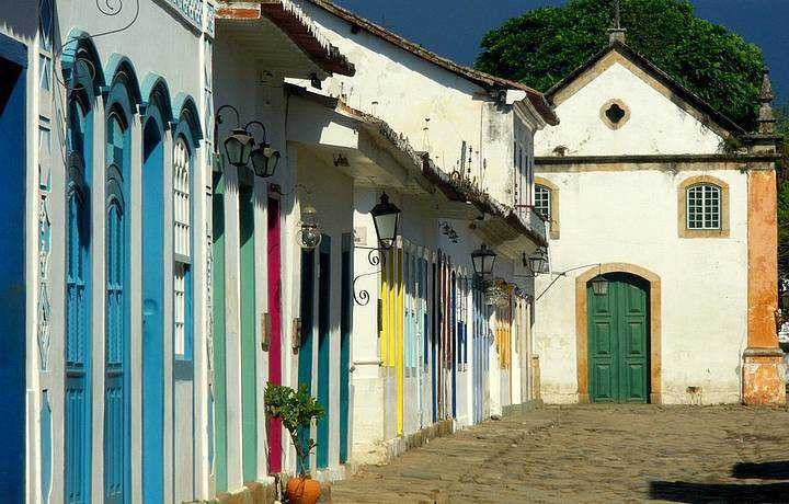 100 meters from the Historic Center of Paraty