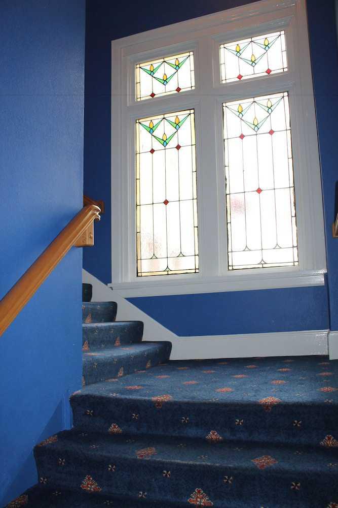 Handrails in stairways