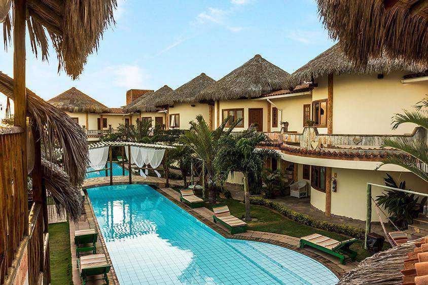 Hotel em Canoa Quebrada com Café da Manhã.