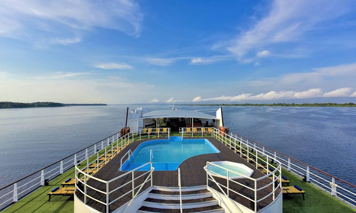 Cruzeiro no Rio Amazonas: Iberostar Grand Amazon
