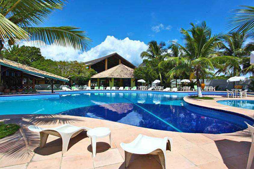 Hotel em frente a Praia do Mutá e com gratuidade para 1 criança de até 12 anos.