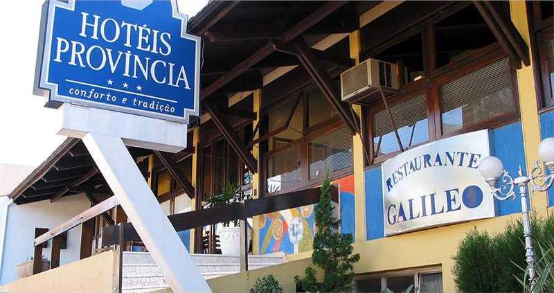 Fachada do Hotel Provincia de Francsico Beltrao